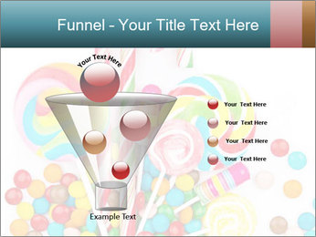 Colorful candy PowerPoint Template - Slide 63