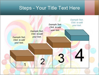 Colorful candy PowerPoint Template - Slide 64