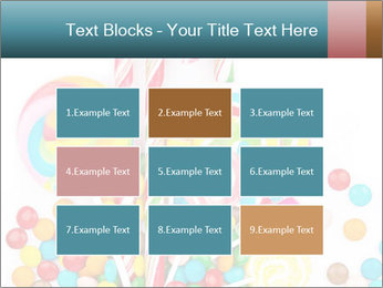 Colorful candy PowerPoint Template - Slide 68