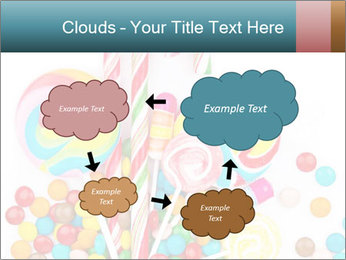 Colorful candy PowerPoint Templates - Slide 72