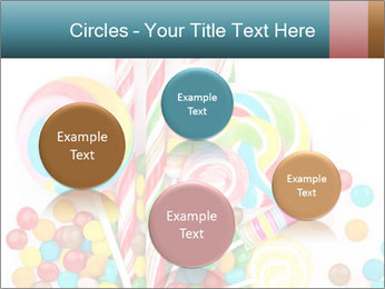 Colorful candy PowerPoint Template - Slide 77