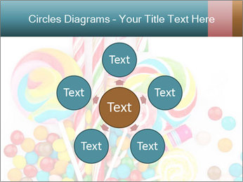 Colorful candy PowerPoint Templates - Slide 78