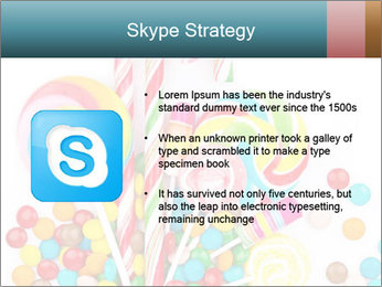 Colorful candy PowerPoint Template - Slide 8