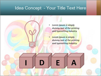Colorful candy PowerPoint Templates - Slide 80