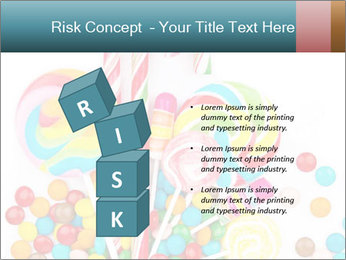 Colorful candy PowerPoint Templates - Slide 81