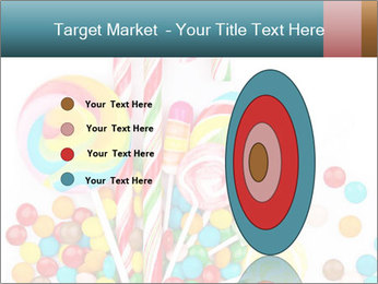 Colorful candy PowerPoint Template - Slide 84