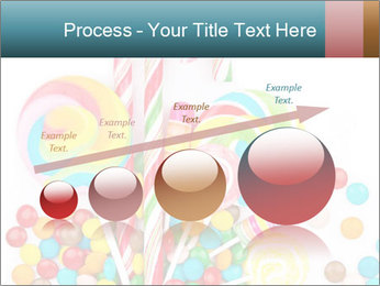 Colorful candy PowerPoint Template - Slide 87