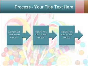 Colorful candy PowerPoint Template - Slide 88