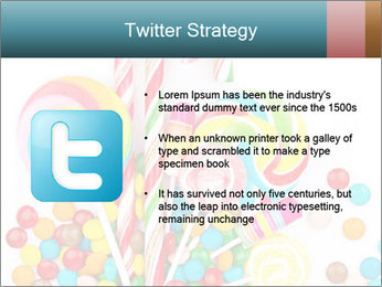 Colorful candy PowerPoint Template - Slide 9