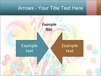 Colorful candy PowerPoint Templates - Slide 90