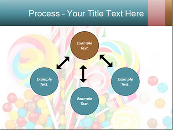 Colorful candy PowerPoint Template - Slide 91