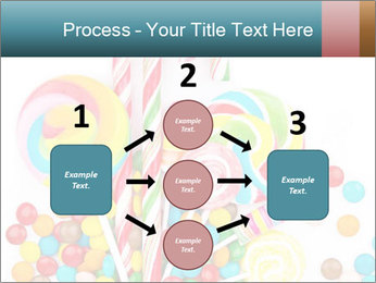 Colorful candy PowerPoint Template - Slide 92
