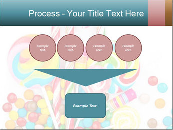 Colorful candy PowerPoint Template - Slide 93