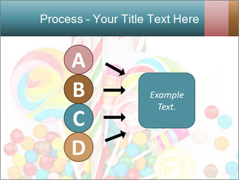 Colorful candy PowerPoint Template - Slide 94