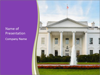 The White House PowerPoint Templates - Slide 1