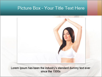 Young attractive pregnant woman PowerPoint Template - Slide 16