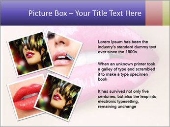 Glossy Lips PowerPoint Template - Slide 23
