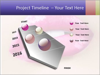 Glossy Lips PowerPoint Template - Slide 26