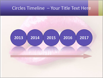 Glossy Lips PowerPoint Template - Slide 29