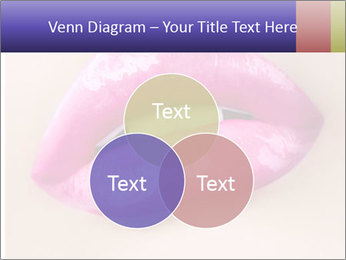 Glossy Lips PowerPoint Template - Slide 33