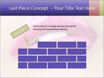 Glossy Lips PowerPoint Template - Slide 46