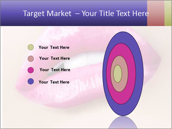 Glossy Lips PowerPoint Template - Slide 84