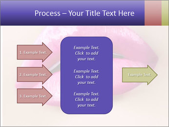 Glossy Lips PowerPoint Template - Slide 85