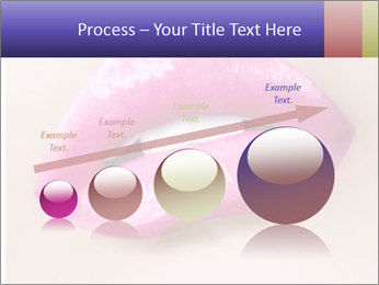 Glossy Lips PowerPoint Template - Slide 87