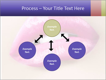 Glossy Lips PowerPoint Template - Slide 91