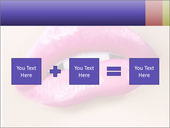 Glossy Lips PowerPoint Template - Slide 95
