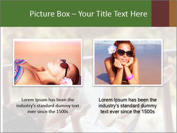Woman lying in a hammock PowerPoint Template - Slide 18