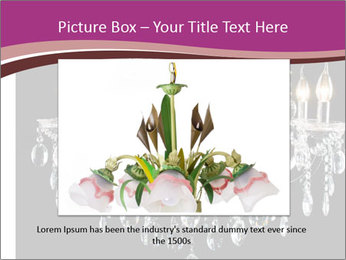 Contemporary glass chandelier PowerPoint Templates - Slide 15