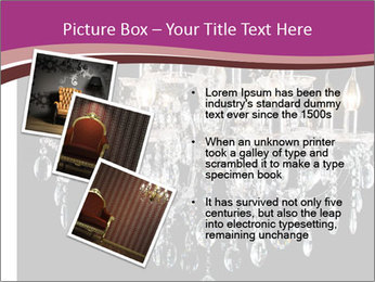 Contemporary glass chandelier PowerPoint Templates - Slide 17