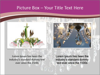 Contemporary glass chandelier PowerPoint Templates - Slide 18