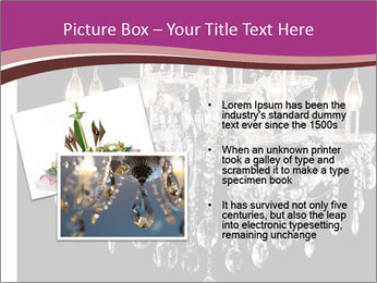 Contemporary glass chandelier PowerPoint Templates - Slide 20