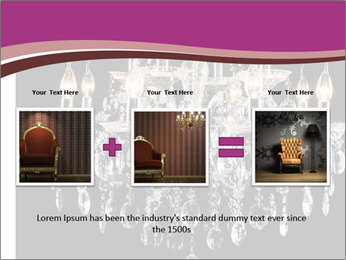 Contemporary glass chandelier PowerPoint Templates - Slide 22