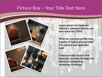 Contemporary glass chandelier PowerPoint Templates - Slide 23