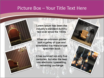 Contemporary glass chandelier PowerPoint Templates - Slide 24