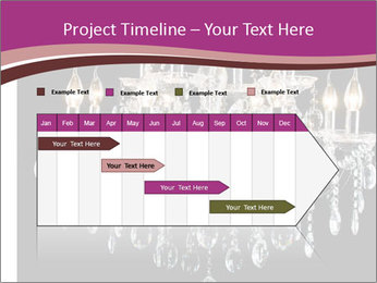 Contemporary glass chandelier PowerPoint Templates - Slide 25