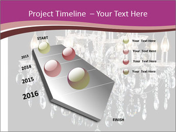 Contemporary glass chandelier PowerPoint Template - Slide 26