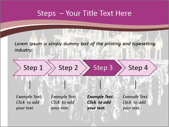 Contemporary glass chandelier PowerPoint Templates - Slide 4