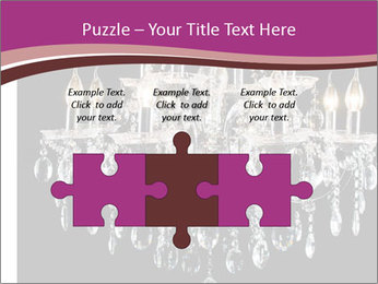 Contemporary glass chandelier PowerPoint Templates - Slide 42