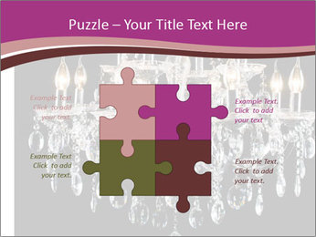 Contemporary glass chandelier PowerPoint Templates - Slide 43