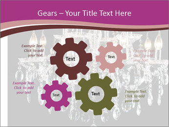 Contemporary glass chandelier PowerPoint Templates - Slide 47