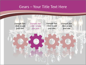 Contemporary glass chandelier PowerPoint Templates - Slide 48