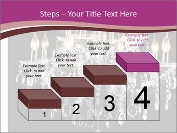 Contemporary glass chandelier PowerPoint Template - Slide 64