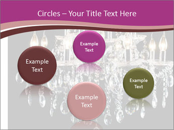 Contemporary glass chandelier PowerPoint Template - Slide 77