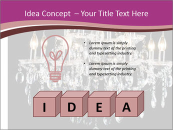Contemporary glass chandelier PowerPoint Template - Slide 80