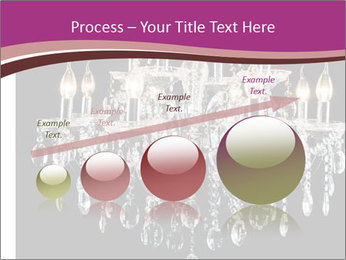 Contemporary glass chandelier PowerPoint Template - Slide 87
