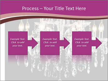 Contemporary glass chandelier PowerPoint Template - Slide 88